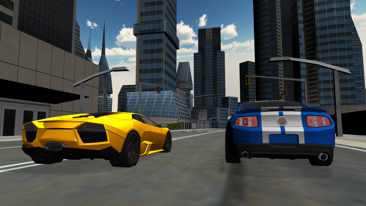 Sports Car City Driving- screenshot