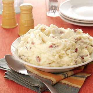 Garlic Mashed Red Potatoes.