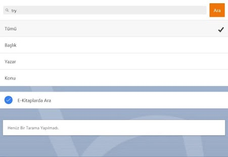 LibraMy - Hacettepe Library- screenshot thumbnail