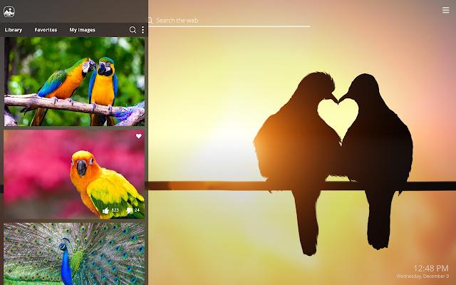 4400 Koleksi Romantic Bird Wallpaper Gratis