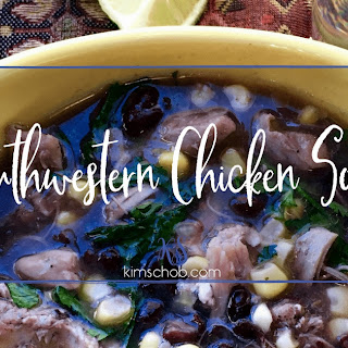 Southwestern Chicken Soup.