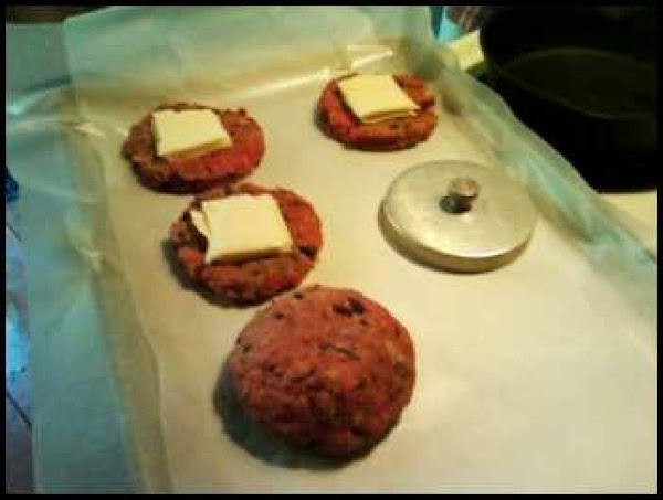 Take 2 slices of the lowest sodium cheese you can find).  I used...