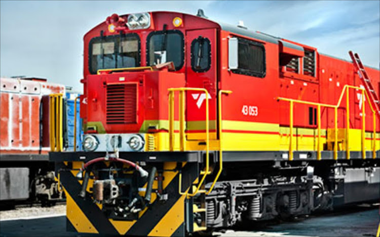 Transnet train. File photo.