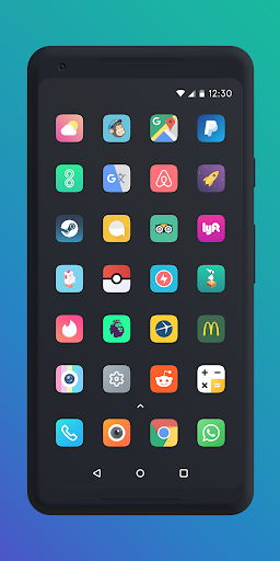 Screenshot for Borealis - Icon Pack in Hong Kong Play Store