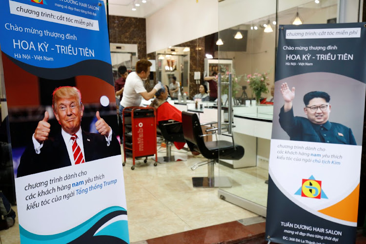 Vietnamese barber marks summit with free Trump-Kim haircuts