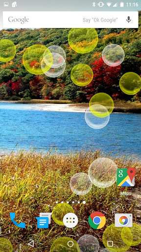 Bright Bubble Live Wallpaper