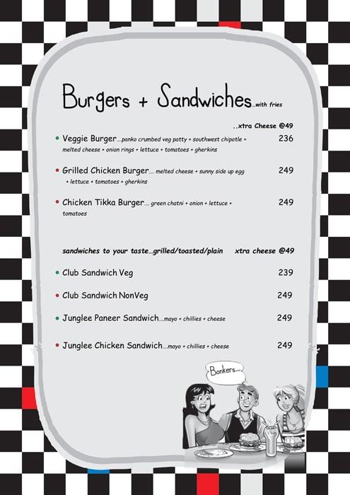 Pop Tate's menu 13