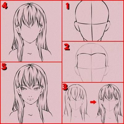 玩免費遊戲APP|下載Easy Drawing Anime Tutorial app不用錢|硬是要APP