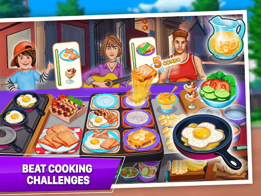 Code Triche Cooking Crush - Madness Crazy Chef Cooking Games APK MOD (Astuce) screenshots 1