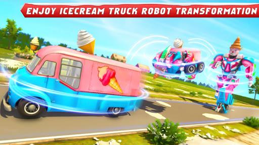 Ice Cream Robot Truck Game - Robot Transformation filehippodl screenshot 10