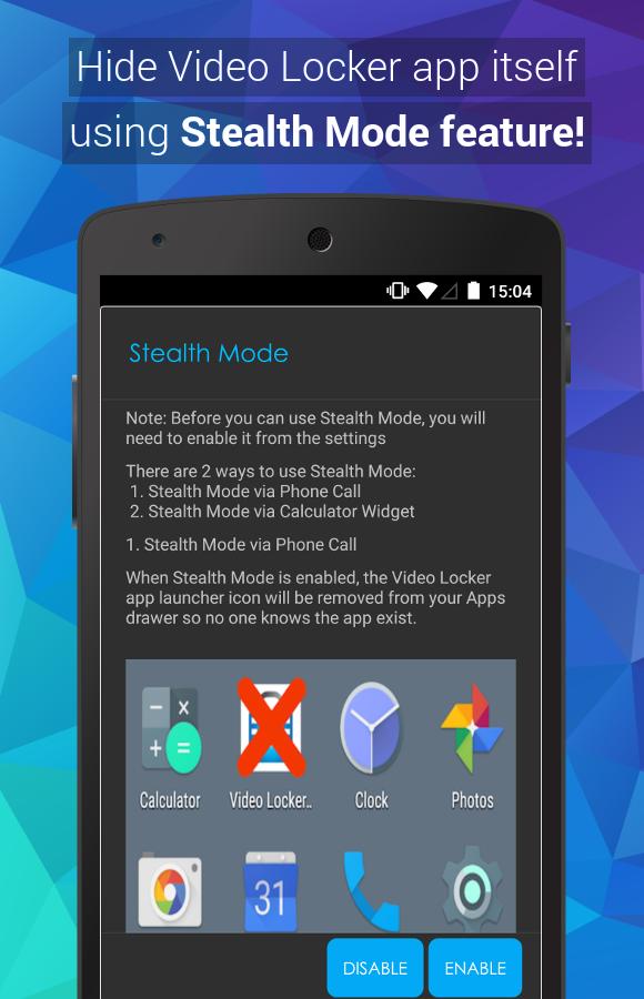 Video Locker Pro Screenshot 3