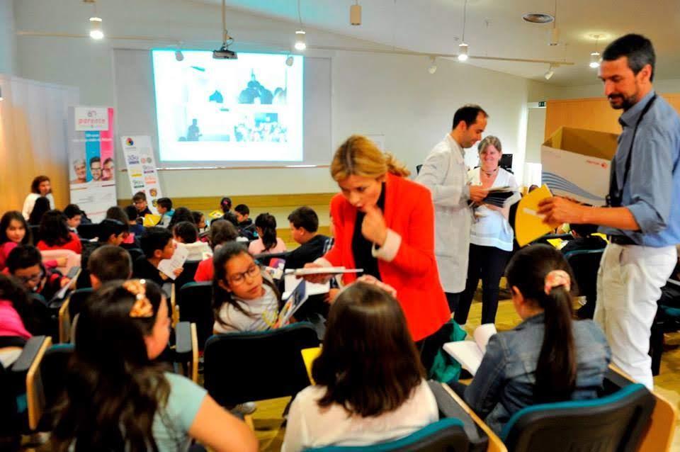 Crianças de Lamego aprendem mais sobre visão daltónica