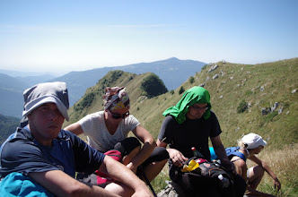 Photo: pauza na 1650m ,i lagani gablec