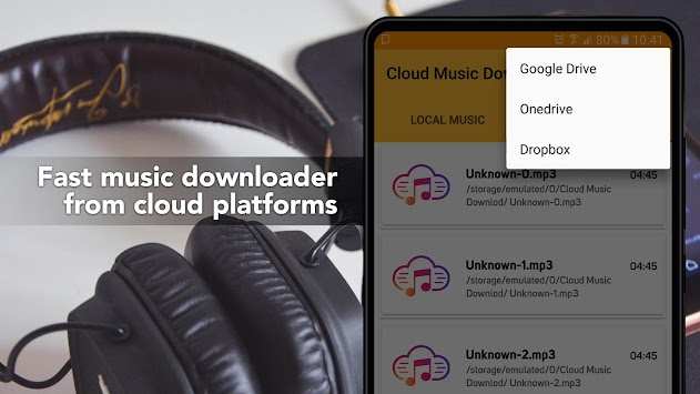 Free Music Download from Cloud Services Offline