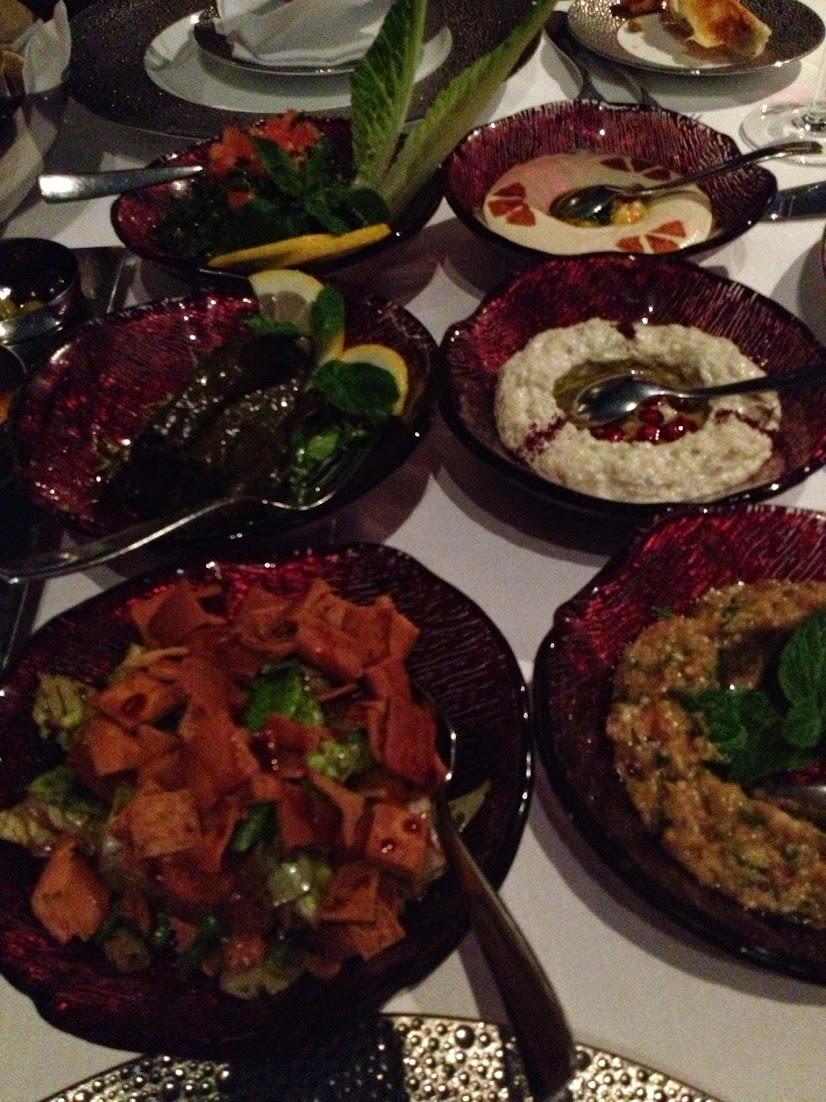 Assorted Starters, Li Beirut, Abu Dhabi, UAE