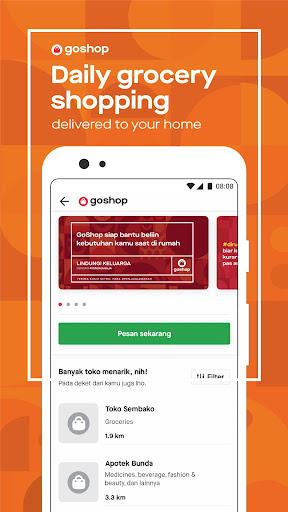 Gojek - Ojek Taxi Booking, Delivery and Payment screenshot 4