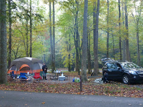 Photo: First night at Elkmont Campground