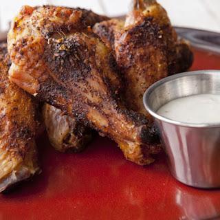 Slow Roasted Chicken Wings.