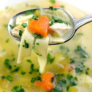 Lemon Chicken Noodle Soup