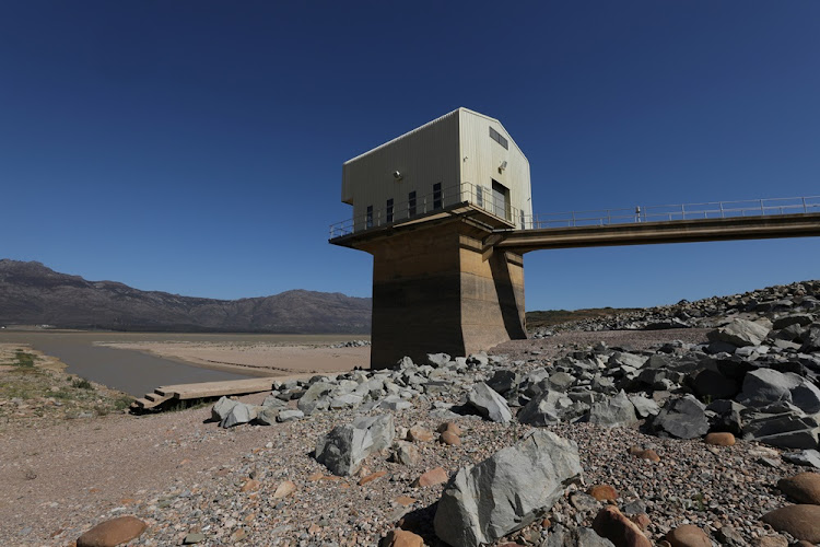 Voelvlei Dam near Cape Town early in 2018. Picture: REUTERS