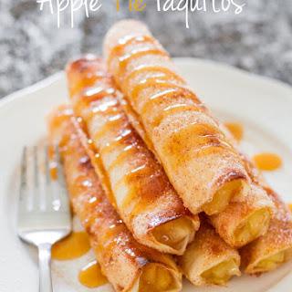 Apple Pie Taquitos.