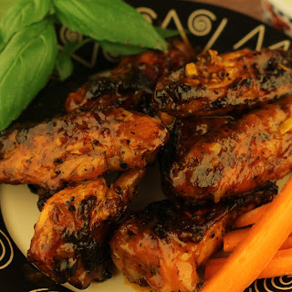 No-Fry Spicey, Zesty Chicken Wings