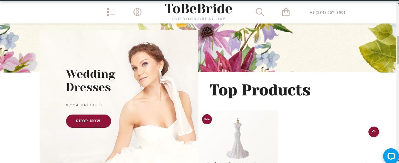 ToBePride- Wedding Opencart theme