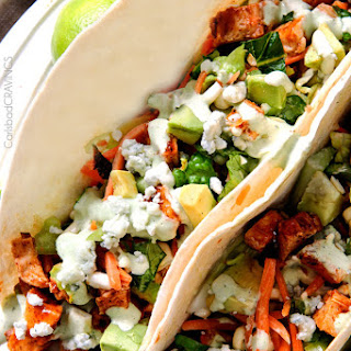 Buffalo Chicken Tacos with