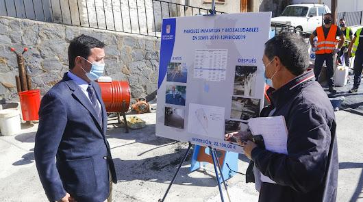 Diputación invierte 100 millones en 2020 en obras en los 103 pueblos de Almería