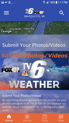 TV6 & FOX UP Weather 5.0.800 Screenshots 2
