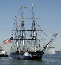 Photo: The USS Constitution fires a 21-cannon salute to honor 70 Medal of Honor (MOH) recipients on board the oldest commissioned warship afloat in Boston, Mass., Sept. 30, 2007. The ship conducted a turnaround cruise and an MOH flag presentation for the recipients in Boston Harbor. The MOH is the country's highest military honor. (U.S. Air Force photo by  Jan Abate/Released)