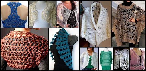 DIY Bolero Shrugs Crochet Making Women Craft Ideas – Apps bei Google ...