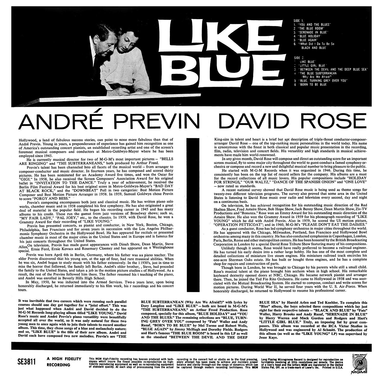 Andre Previn, David Rose