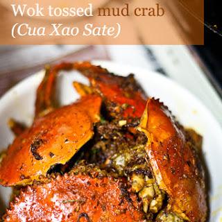 Wok Tossed Mud Crab (cua xào sate)