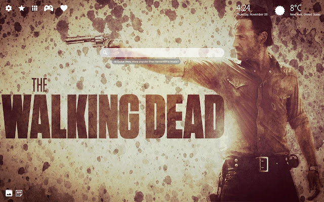 Walking Dead Twd Hd Wallpaper Chrome Theme