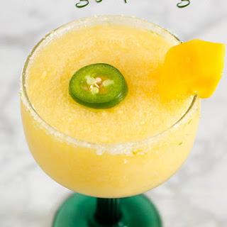 Frozen Mango Jalapeno Margaritas.