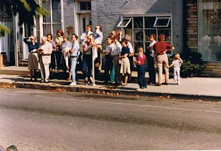 Photo: PHW walking tour group in the 200 block of S. Loudoun