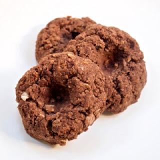 Chocolate Meyer Lemon Thumbprint Cookies.