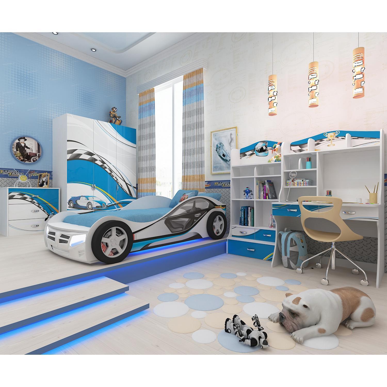 Nội thất phòng ngủ lấy ý tưởng từ xe hơi