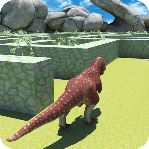 Real Jurassic Dinosaur Maze Run Simulator 2017 (game)