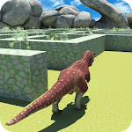 Real Jurassic Dinosaur Maze Run Simulator 2018 Icon