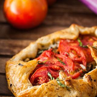 Italian Eggplant Galette