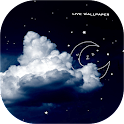 Moon Sleeping Live Wallpaper icon