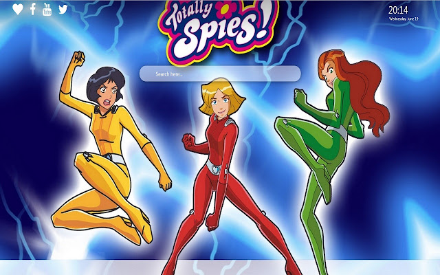 Totally Spies HD Wallpapers New Tab Theme