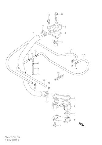 Slang termostat Suzuki