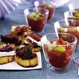 Gazpacho Appetizer