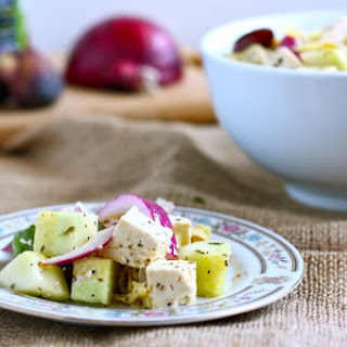 Tofu Greek Salad