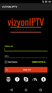 VIZYON IPTV PLAYER for PC-Windows 7,8,10 and Mac APK 1 0