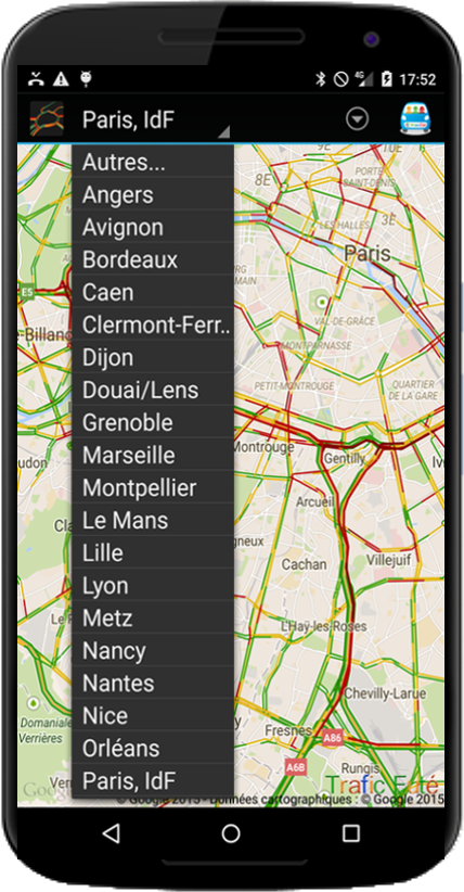 Smart Traffic- screenshot