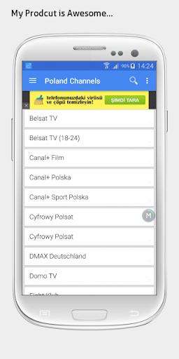 Poland TV sat info